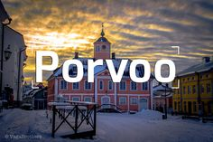 Travel Video to Porvoo Finland