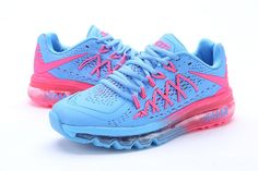 Nike Air Max 2015 II Womens Shoes Baby Pink Blue New 04 4