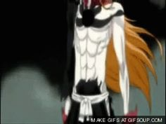 Day 19 - most epic scene ever: Vasto Lorde Ichigo gif - Bleach