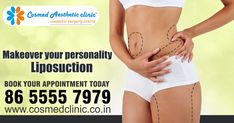Your beauty always creates a good impact on others. It's your identity which people always remember for a lifetime. #CosmedClinic always makes you feel beautiful and keep you beautiful with #Liposuction Surgery. Let's come and meet our expert for that younger look forever Book Your Appointment on +91 8655557979 Visit us on: www.cosmedclinic.co.in/contact-us Follow us on Twitter for more update: https://twitter.com/CosmedClinic1  #StayFit #StayHealthy #BeautyOfLife #WednesdayWisdom