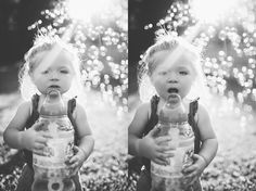 Sunset Bubble Photos | Knoxville Family Photographer | Erin Morrison Photography www.erinmorrisonphotography.com