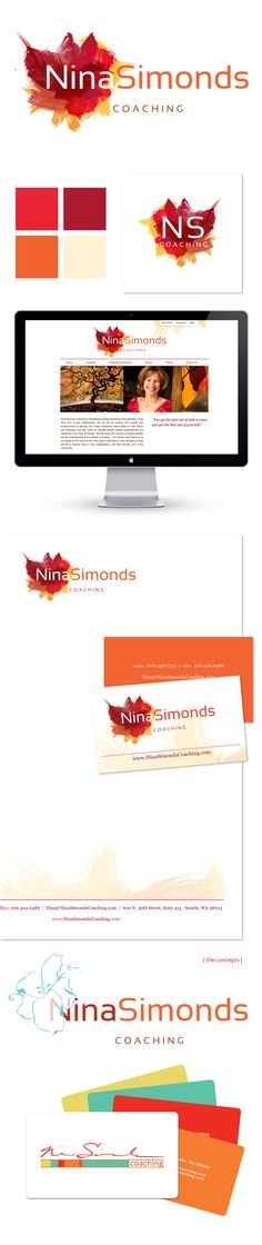 Nina Simonds Coaching - Logo / Brand Design, Website Design, Graphic Design