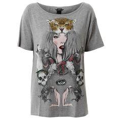 Camiseta Alongada Colcci - Cinza dad1117ffb38b