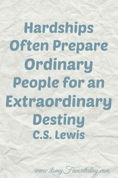 Encouragement to take your hardships and turn them into positives. Be a part of creating your extraordinary destiny! You want to read this now, it is short and very encouraging. Or repin for later.