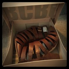 BCBGeneration JAXX Toffee Shoes NIB BCBGENERATION great brand great shoe! New in box and never worn. Approximately 4 inch heel height - heels are chunky and have a great 70s vibe! On trend for summer and fall! BCBGeneration Shoes Ankle Boots & Booties