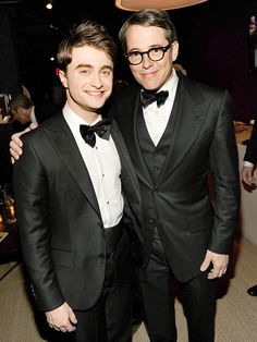 Radcliffe and Broderick 2011 Tony Awards