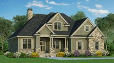 Donald A. Gardner Architects, Inc. The Valmead Park House Plan DDWEBDDDG-1153