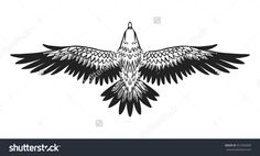 Soaring Bird Prey Vector Hand Drawn Stock Vector (Royalty Free) 321836990 - Soaring Bird Of Prey. – 321836990 … You are in the right place a - Hand Tattoos, Phönix Tattoo, Tattoos Arm Mann, Line Art Tattoos, Wolf Tattoos, Arm Band Tattoo, Body Art Tattoos, Sleeve Tattoos, Small Meaningful Tattoos