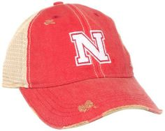 NCAA Snapback Mesh Hat, Nebraska Cornhuskers, One Size,Red by adidas. $11.61. Usa. Garment Washed Cotton With Plastic Mesh Back Closure. Wipe With Damp Cloth. cotton. 50% Cotton / 50% Polyester. Save 35%!
