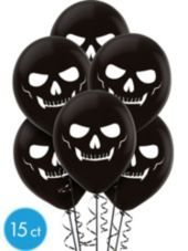 Latex Skeleton Balloons - Party City
