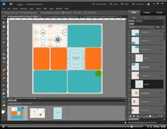 tutorial for using templates for Project Life