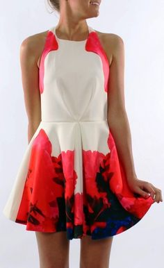 Keepsake. Dipped. Textile. #dress #colour #textile