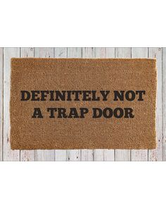 Cute Doormat From The Signals Mail Order Catalog