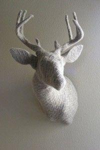 Knitted Dear Head  Rachel Denny