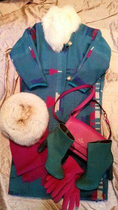 Fur helps on a sub zero errand day.