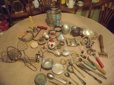 kitchen gadgets dusty old things