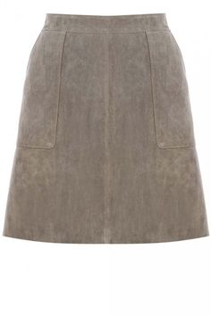 Warehouse suede A-line skirt, £55 - The High Street 100