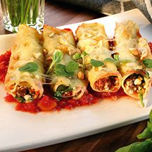 (9 pp) Canneloni med cottage cheese