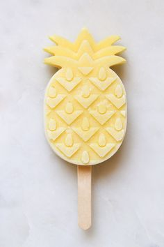 Pineapple Popsicle Molds