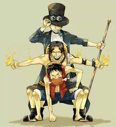 One Piece-Sabo,Ace,Luffy