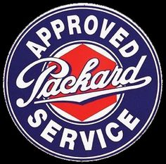 Click to find out more about Packard Service Porcelain Sign