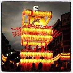 """桐生@八木節祭り。""""The Yagi-Bushi Festival in Kiryu@Gunma"""""""