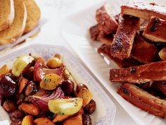 Root Vegetable Pan Roast with Chestnuts and Apples - Seasoned with thyme and sweetened with syrup, this complexly favorful side dish may just steal the show from the main course. Plus: More Vegetable . Apple Recipes, Pork Recipes, Wine Recipes, Cooking Recipes, Syrup Recipes, Recipies, Vegetable Dishes, Vegetable Recipes, Pasta Fusilli