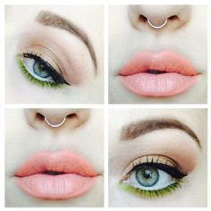 I love this girls makeup ideas. She is absolutely fabulous