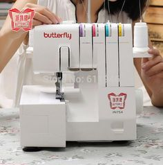 1PC JN754 220V 70W Household Multifunctional Electric Bench Line Zigzag Sewing Machine With English Manual