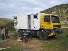 Daf 4x4 motorhome