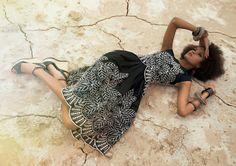 """""""Cairo Dress black"""" www.lenahoschek.com"""