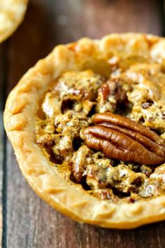 Pecan Butter Tarts - just FIVE ingredients including the tart shells! Like…