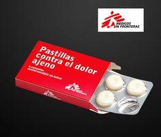"""Campaña solidaria: """"Pastillas contra el dolor ajeno"""", por sólo $1€"""