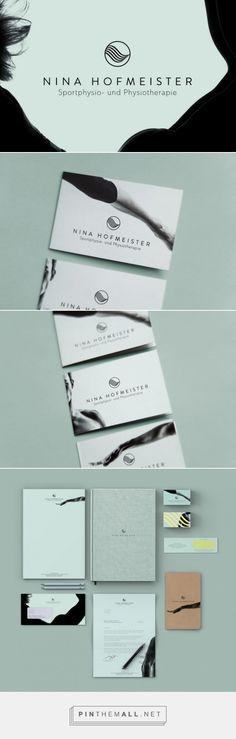 Nina Hofmeister CI Branding by Tina Graphic Studio   Fivestar Branding – Design and Branding Agency & Inspiration Gallery