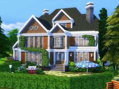 Newcrest Suburban is a lovely family home built on 40x30 lot in Newcrest. Found in TSR Category 'Sims 4 Residential Lots'