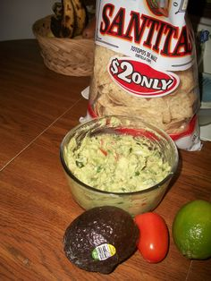 """There's a cold weather clipper coming"" homemade guacamole. Recipe: 2 chopped tomatoes, three avocados, one squeezed lime, a small handful of chopped cilantro, and three chopped green onions. Sprinkle fresh cracked pepper and salt to your liking and fini:)"