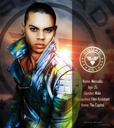 MOCKINGJAY PART 1/2 - OFFICIAL CAST --Evan Ross as Messalla