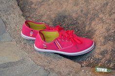 Coral Pink Canvas Shoes Design: ΔΙIΙ▭Δ