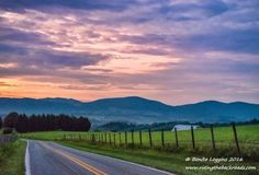 Alleghany County, NC - Sunrise with a Fence (40 pieces)