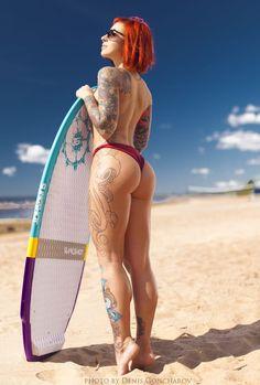 surfing by Denis Goncharov