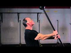 Macebell Exercise: 2-Handed Mill with a Short Mace by Rik Brown - YouTube