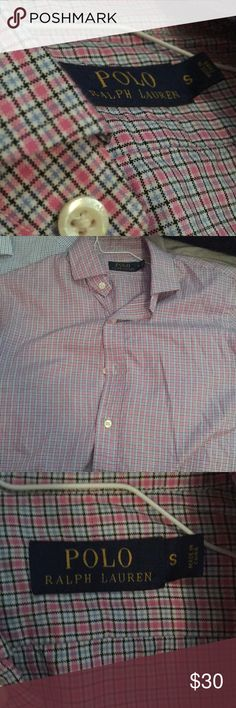 Ralph Lauren Button Down Size small. No stains. Polo by Ralph Lauren Shirts Dress Shirts