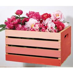 Ombre Crate