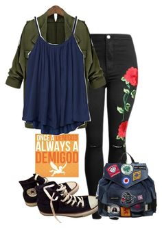 """""""New Rewrite? New Love Interest"""" by rock29211 ❤ liked on Polyvore featuring Gap, Converse and Dsquared2"""