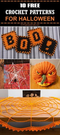 10 Free Crochet Patterns for Halloween!