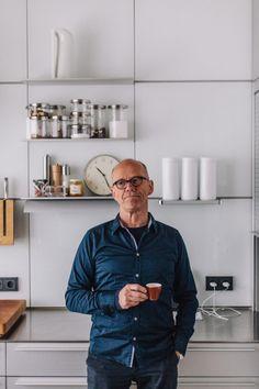 Erik Spiekermann — Freunde von Freunden Volkswagen, Audi, Interview, Business Portrait, Interesting Reads, Typography Inspiration, Commercial Design, Logo Design, Men Casual