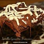 Nutella 2 Ingredient Brownies