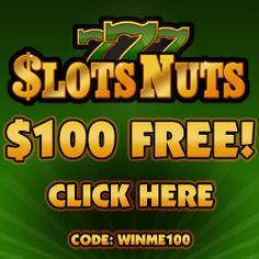 $100 FREE @ Slots Nuts Casino (RTG) Get Yours Here: http://www.slotnuts.com/?casinoID=291&gAID=47626&subGid=0&bannerID=10368