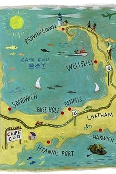 Cape Cod in Massachusetts - spent many a summer here as a kid!