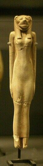 Shabti of Sekhmet (detail)